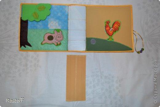 Игрушка Мастер-класс Раннее развитие День рождения Новый год Шитьё МК по сборке книги из ткани Ткань фото 9.