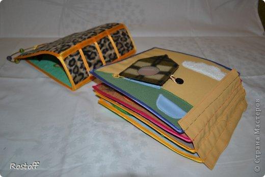 Игрушка Мастер-класс Раннее развитие День рождения Новый год Шитьё МК по сборке книги из ткани Ткань фото 13.