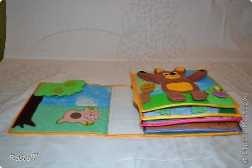 Многие мастерицы спрашивают меня, как собрать книжку, соединить странички друг с другом и с обложкой. Предлагаю Вам мой вариант, выработанный в процессе работы над книжками. фото 14