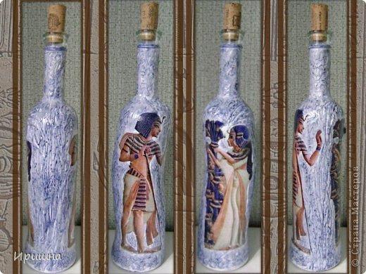 Доброе время суток,  уважаемые мастера и мастерицы!!! Я к вам с очередной партией бутылок... Здесь первый раз пробовала шпаклевку.