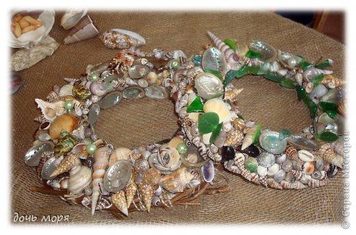 Изделия из ракушек морских
