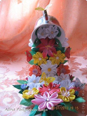 Кружка с цветами поделка - Парящая чашка с цветами своими руками. Мастер-класс с