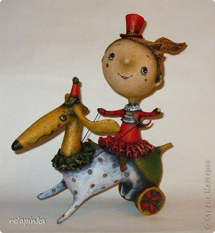 Куклы День рождения Папье-маше Алле-ап Бумага фото 1
