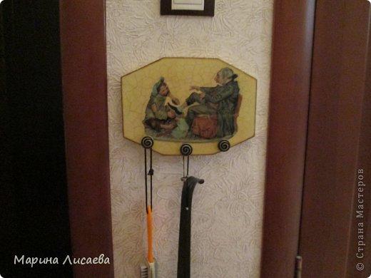 """Эта пара вещиц висит у меня в квартире возле входной двери. Ключница в стиле """"Pin-up"""", фото 3"""