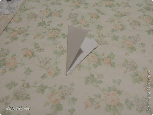 Мастер-класс Бумагопластика МК розы и бутона Бумага фото 7