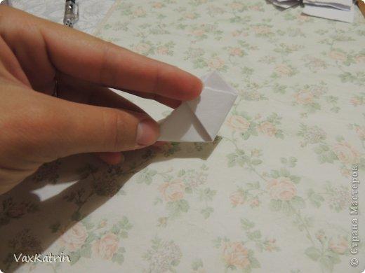 Мастер-класс Бумагопластика МК розы и бутона Бумага фото 8
