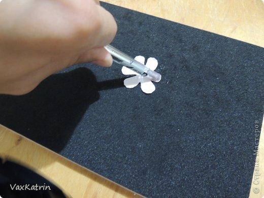 Мастер-класс Бумагопластика МК розы и бутона Бумага фото 16