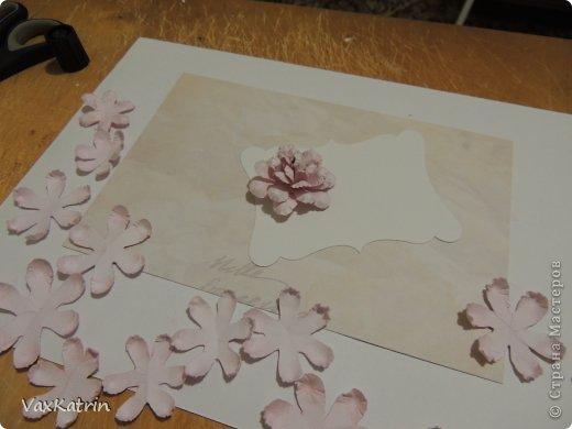 Мастер-класс Бумагопластика МК розы и бутона Бумага фото 25