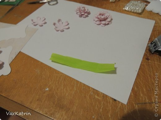 Мастер-класс Бумагопластика МК розы и бутона Бумага фото 27