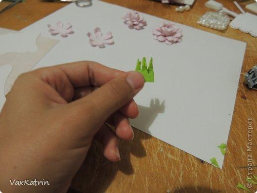Мастер-класс Бумагопластика МК розы и бутона Бумага фото 28