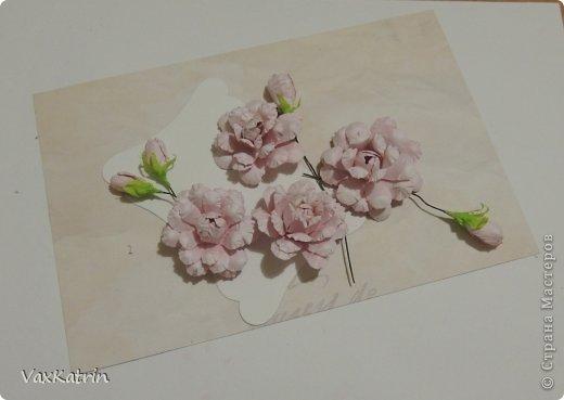 Мастер-класс Бумагопластика МК розы и бутона Бумага фото 31
