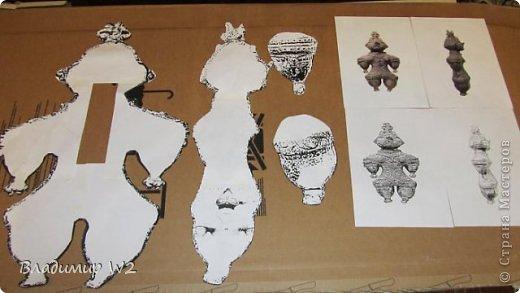Мастер-класс Папье-маше Мастер-класс по изготовлению скульптуры Догу из папье-маше Бумага фото 2