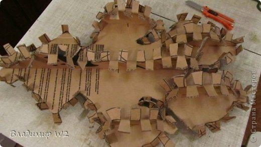 Мастер-класс Папье-маше Мастер-класс по изготовлению скульптуры Догу из папье-маше Бумага фото 6