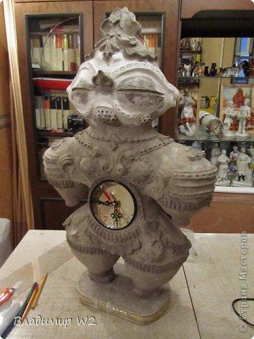 Мастер-класс Папье-маше Мастер-класс по изготовлению скульптуры Догу из папье-маше Бумага фото 15