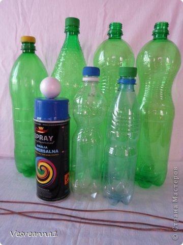 Мастер-класс Фоторепортаж Моделирование Стрекоза из пластиковой бутылки Бутылки пластиковые фото 2