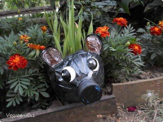 Здравствуйте жители и гости Страны Мастеров ! Вот такая стрекоза поселилась у меня в саду. Может быть кому-то пригодится и у вас появится компания для бабочек. фото 23