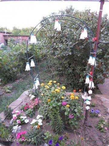 Здравствуйте жители и гости Страны Мастеров ! Вот такая стрекоза поселилась у меня в саду. Может быть кому-то пригодится и у вас появится компания для бабочек. фото 20