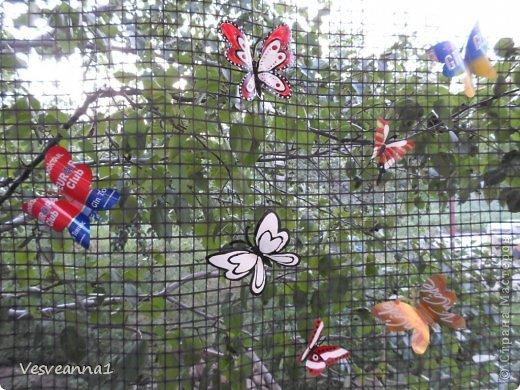 Здравствуйте жители и гости Страны Мастеров ! Вот такая стрекоза поселилась у меня в саду. Может быть кому-то пригодится и у вас появится компания для бабочек. фото 21