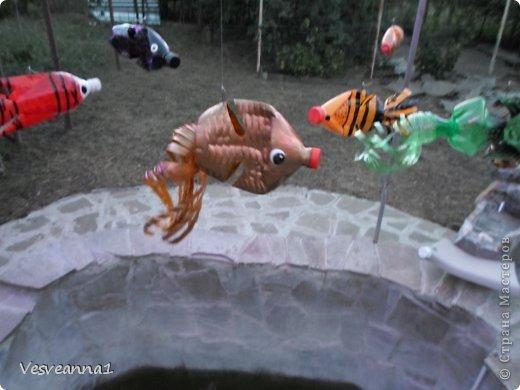 Здравствуйте жители и гости Страны Мастеров ! Вот такая стрекоза поселилась у меня в саду. Может быть кому-то пригодится и у вас появится компания для бабочек. фото 27