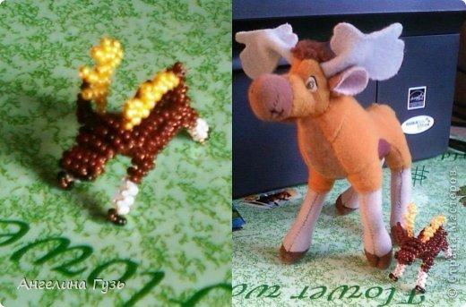 Игрушка Плетение Животные из бисера Бисер Проволока фото 4.