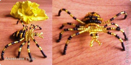 Игрушка Плетение Животные из бисера Бисер Проволока фото 2.