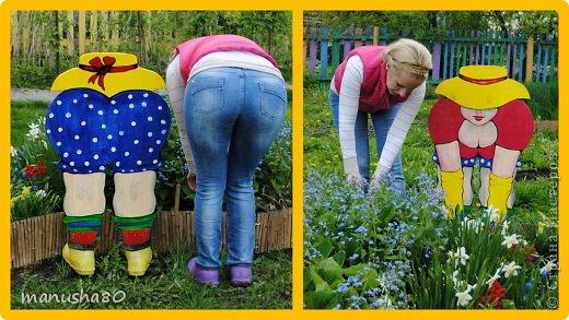 Фото фигурки для сада своими руками 83