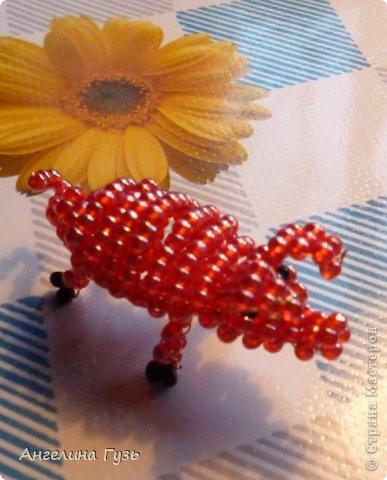 Игрушка Плетение Животные из бисера Бисер Проволока фото 7.