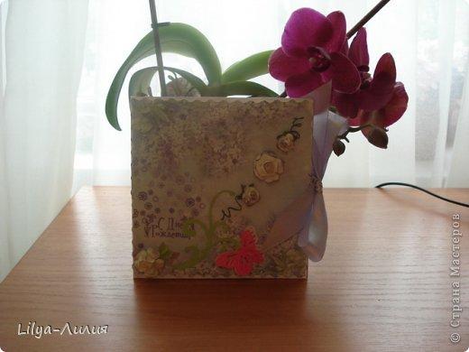 Насмотрелась Вашей красоты и вот мои открыточки и коробочки.  фото 1