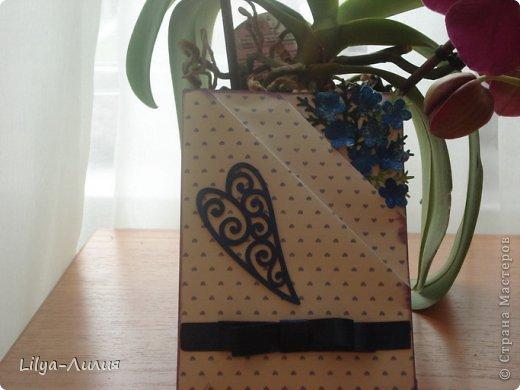 Насмотрелась Вашей красоты и вот мои открыточки и коробочки.  фото 4