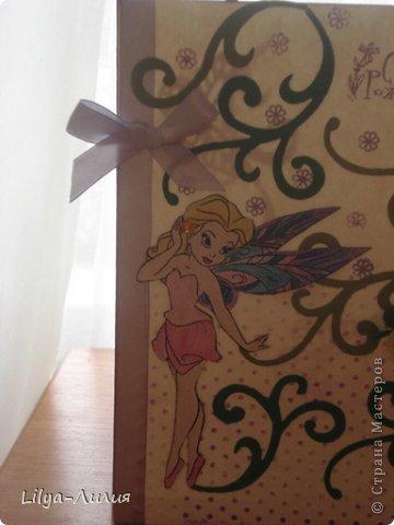Насмотрелась Вашей красоты и вот мои открыточки и коробочки.  фото 6