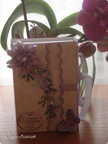 Насмотрелась Вашей красоты и вот мои открыточки и коробочки.  фото 7