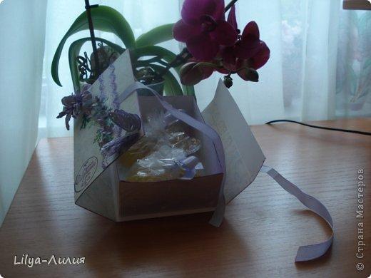 Насмотрелась Вашей красоты и вот мои открыточки и коробочки.  фото 8