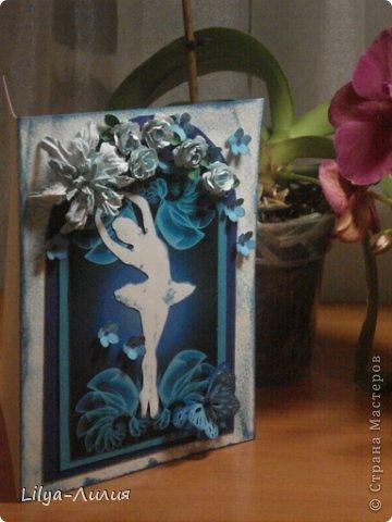 Насмотрелась Вашей красоты и вот мои открыточки и коробочки.  фото 9