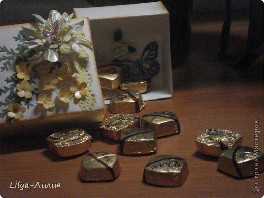 Насмотрелась Вашей красоты и вот мои открыточки и коробочки.  фото 10