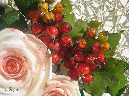 Мастер-класс Лепка Красная смородина из ювелирной эпоксидной смолы Фарфор холодный фото 1