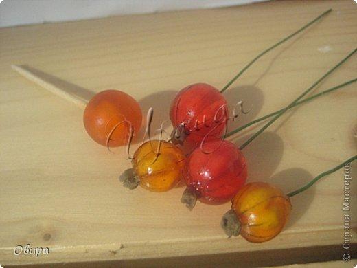 Мастер-класс Лепка Красная смородина из ювелирной эпоксидной смолы Фарфор холодный фото 39