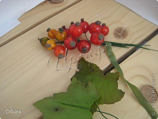Мастер-класс Лепка Красная смородина из ювелирной эпоксидной смолы Фарфор холодный фото 47
