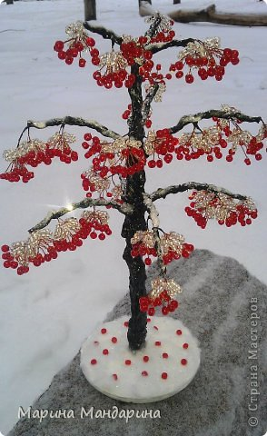 Как сделать деревья в снегу 93