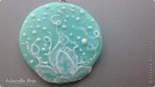 Кулоны и кольцо из полимерной глины. фото 2