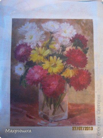 Картина панно рисунок Мастер-класс Перевод распечатанной картинки на ткань с помощью термобумаги - мини МК Бумага Канва фото 1