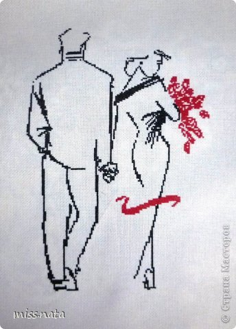 Картина панно рисунок Вышивка крестом Вышиванки + схемы Канва Нитки фото 2.