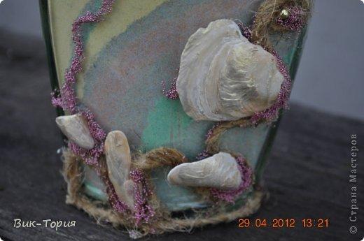 Доброго времени суток Мастера! Очень долго была наблюдателем СМ, теперь захотелось показать и что-то свое. Пока покажу все подряд, фото чего есть под рукой, но интересы все время расширяются, меняются. Вот, например, бутылочка с молотой морской солью . фото 9