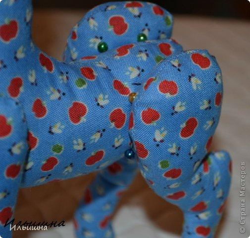 Мастер-класс Поделка изделие Новый год Шитьё Конь в яблоках + подробный Мастер-Класс Ткань фото 14