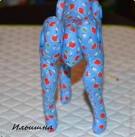 Мастер-класс Поделка изделие Новый год Шитьё Конь в яблоках + подробный Мастер-Класс Ткань фото 18