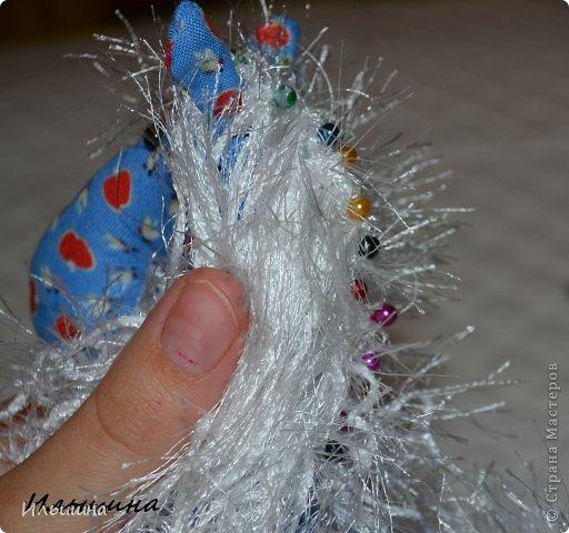 Мастер-класс Поделка изделие Новый год Шитьё Конь в яблоках + подробный Мастер-Класс Ткань фото 34