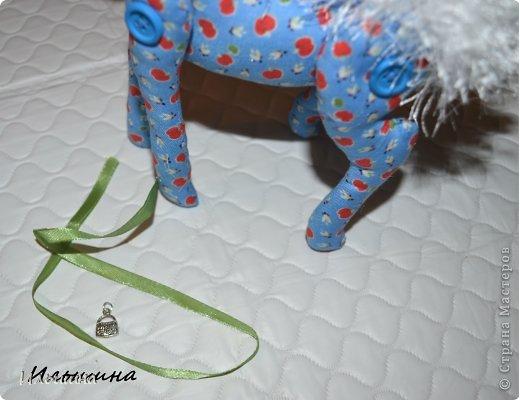 Мастер-класс Поделка изделие Новый год Шитьё Конь в яблоках + подробный Мастер-Класс Ткань фото 38