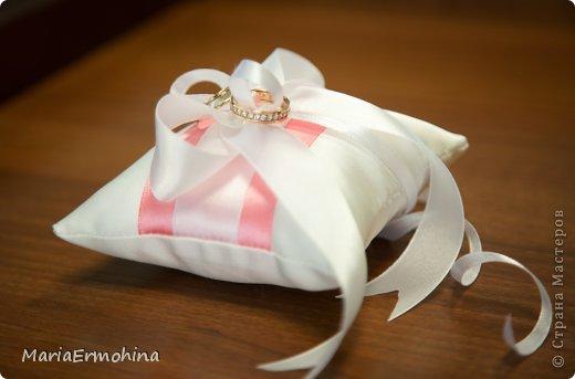 Свадебные подушечки под кольца))) фото 3