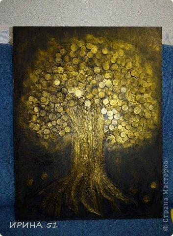 Размер 50*66 см Это деревце подарено моей мамочке.  Делала по МК https://stranamasterov.ru/node/578436?c=favorite фото 4