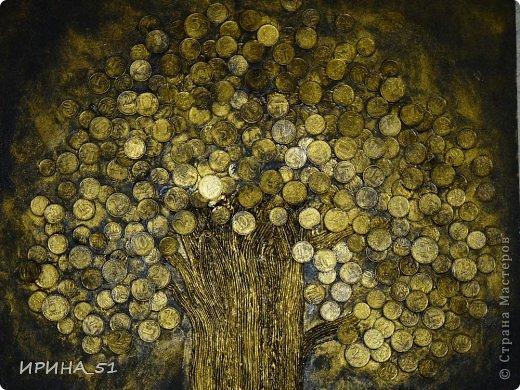 Размер 50*66 см Это деревце подарено моей мамочке.  Делала по МК https://stranamasterov.ru/node/578436?c=favorite фото 3