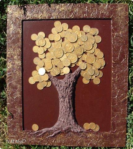 Панно с монетами своими руками